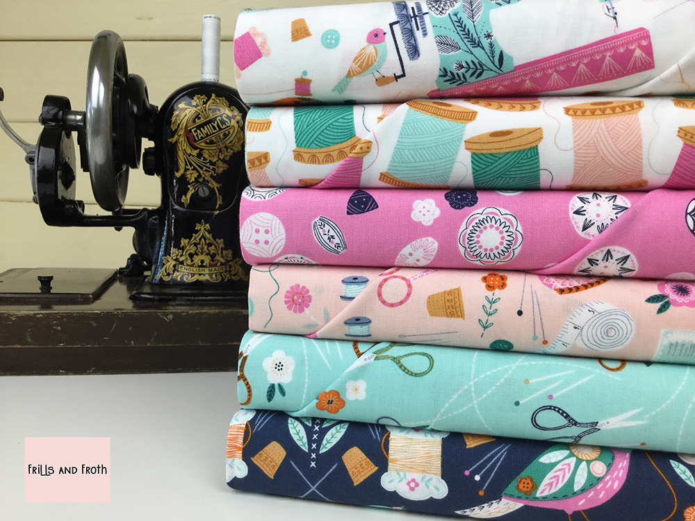 Dashwood Studio 100% cotton quilting weight fabric. Sold by the metre and half metre. From UK online fabric store Frills and Froth.