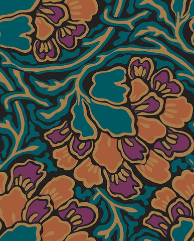 Dianthus dreams fabric in dark green is a fabric from the new fabric collection Hesketh house from Liberty of London fabric. This Liberty fabric is a 100% cotton quilting weight fabric that is suitable for all sewing crafts from dressmaking to quilting. This cotton fabric is sold by the metre and fat quarter by UK fabric seller and Liberty fabric stockist frills and froth