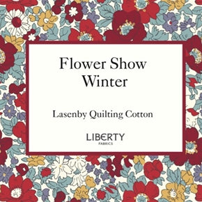 Liberty quilting fabric the flower show winter collection