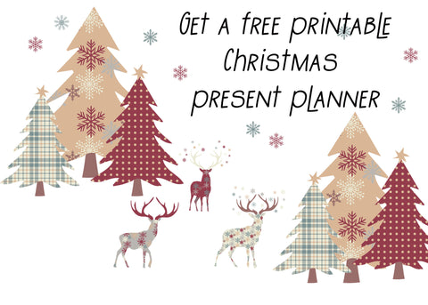 Free Christmas planner printable from frillsandfroth.com