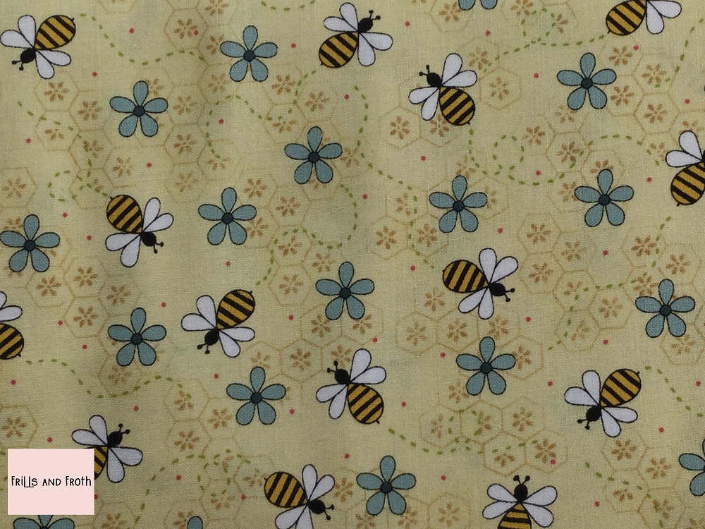 Henry Glass 'All About The Bees' 'Bee Trails' quilting fabric