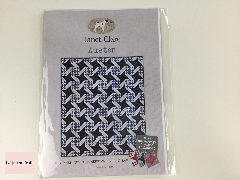Janet Clare's 'Austen' Paper Quilting Pattern