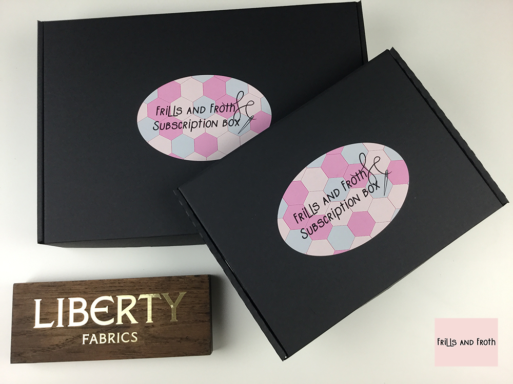 Liberty quilting fabric, English paper piecing subscription boxes. Treat yourself or another sewing addict to one of these Liberty quilting fabric English paper piecing subscription boxes!