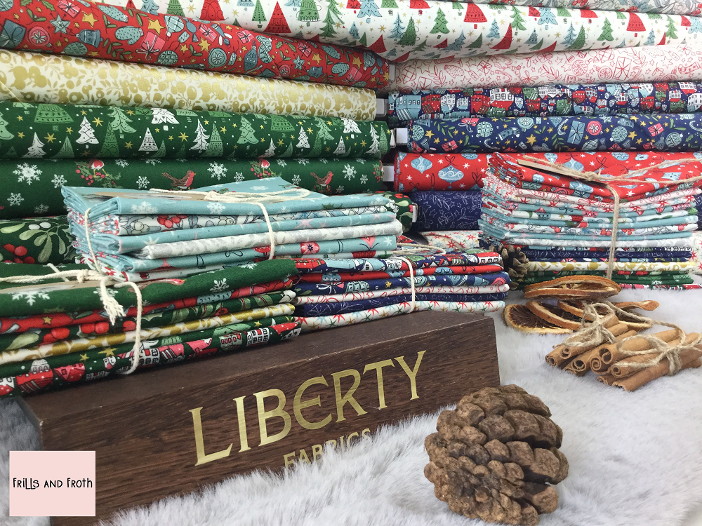 Liberty Fabric 'A Festive Collection' Quilting Fabric