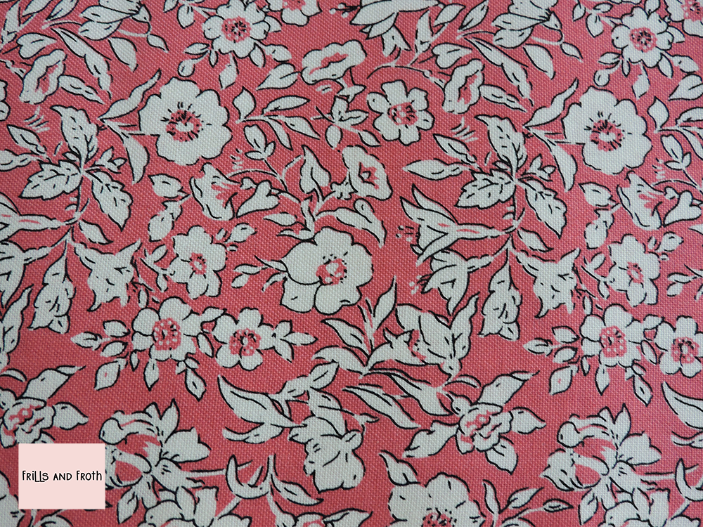 Liberty Fabric Morning dew pink quilting cotton