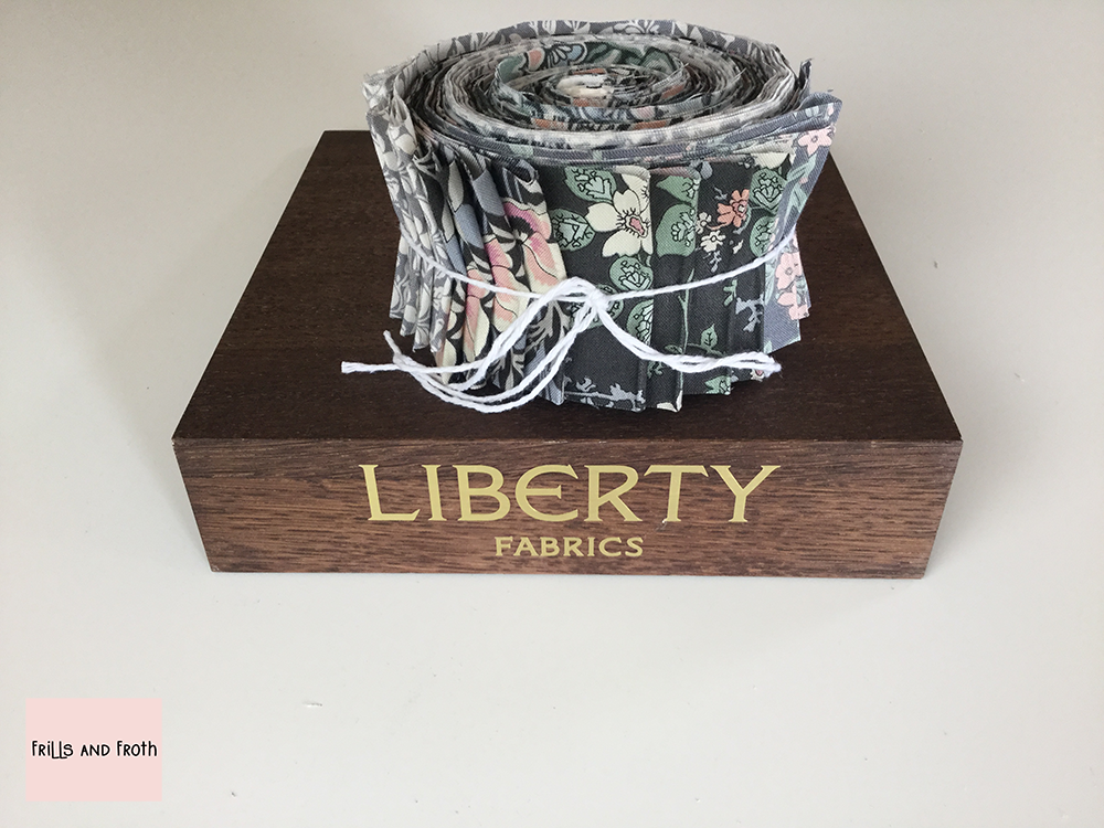 Liberty Fabric 'Hesketh House' Quilting Strip Bundle in Grey