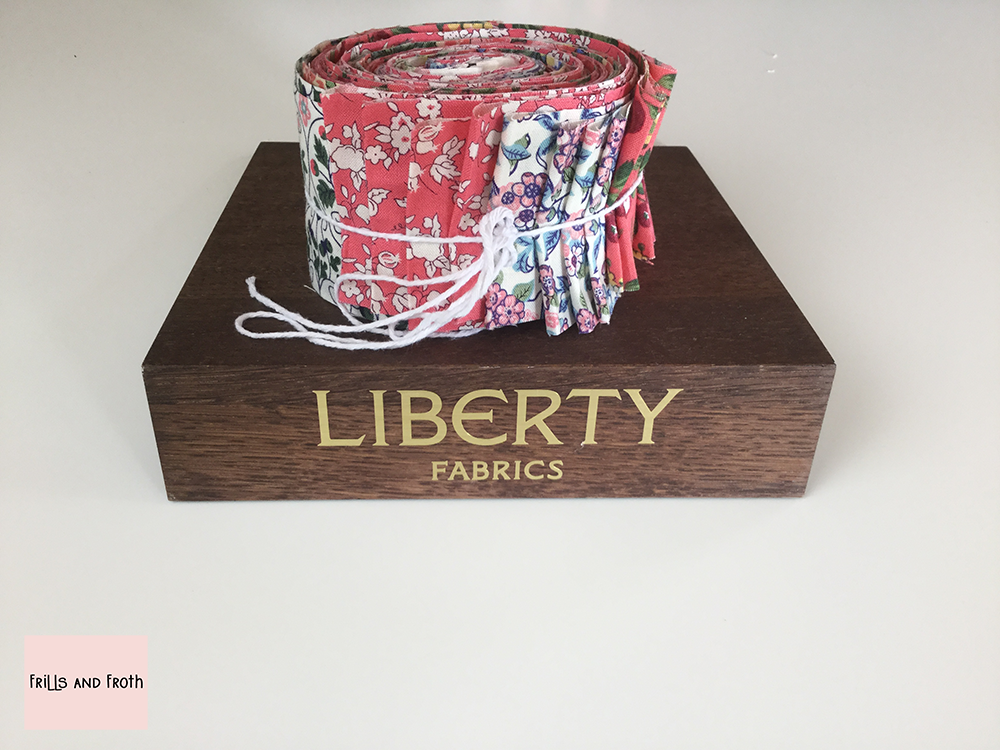Liberty Fabric 'Orchard Garden' Quilting Strip Bundle in Pink
