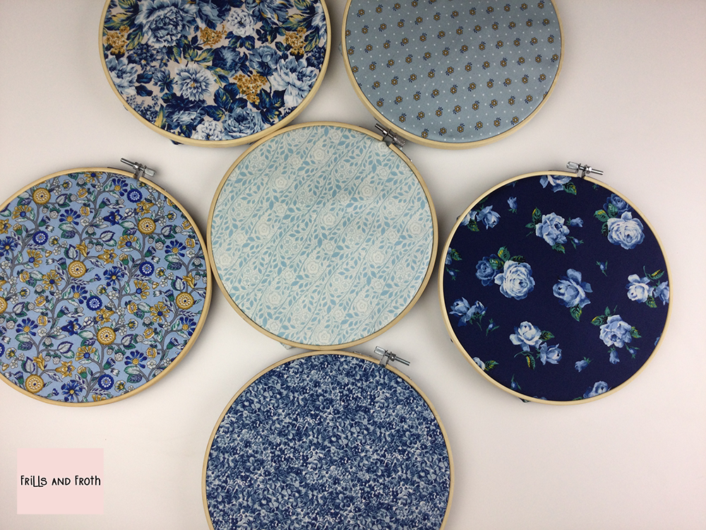 Liberty Fabric 'Emporium' Quilting Fabric Fat Quarter Bundle in Blue Liberty Fabric 'Emporium' Quilting Fabric Fat Quarter Bundle in Blue This bundle from the 'Emporium' collection by Liberty contains six fat quarters all in a blue colourway.