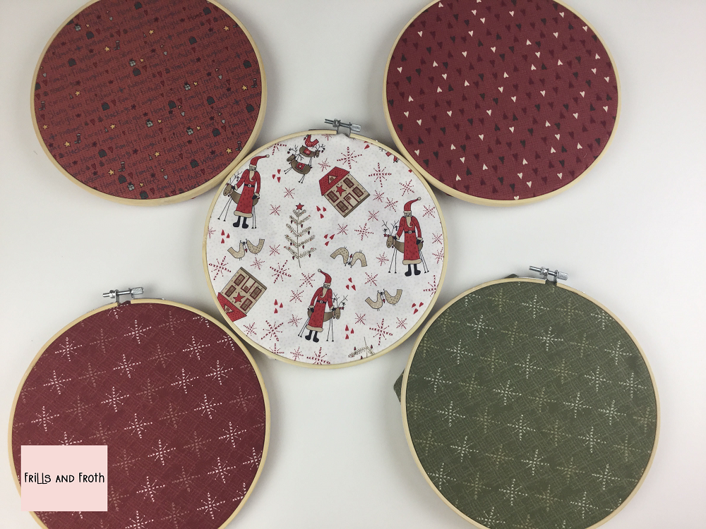 Lynette Anderson Scandinavian Christmas 2 Red & Green Fat Quarter Bundle This bundle of Lynette Anderson quilting fabric contains five fat quarters. Fabric features stars, hearts, reindeer, festive words, Santa and more.