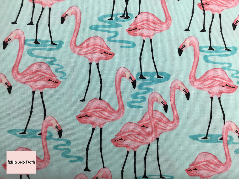 Michael Miller 'Flamingo bay' quilting fabric