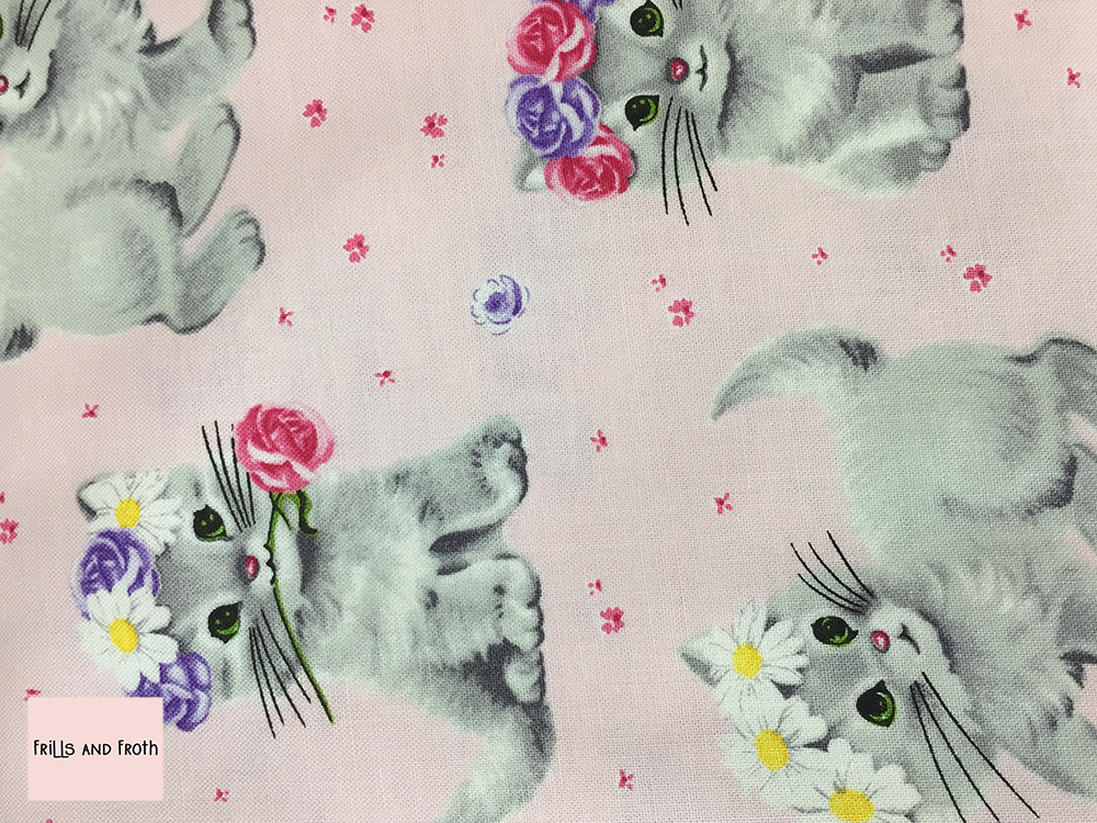 Michael Miller 'Furry Princess' in princess quilting fabric