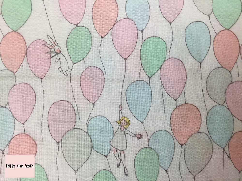 Michael Miller 'Soft Balloons' quilting fabric