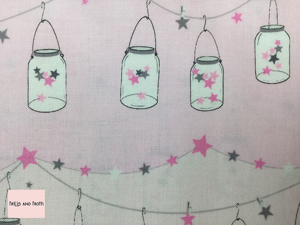 Michael Miller 'Twinkle Twinkle Little Jars' quilting fabric