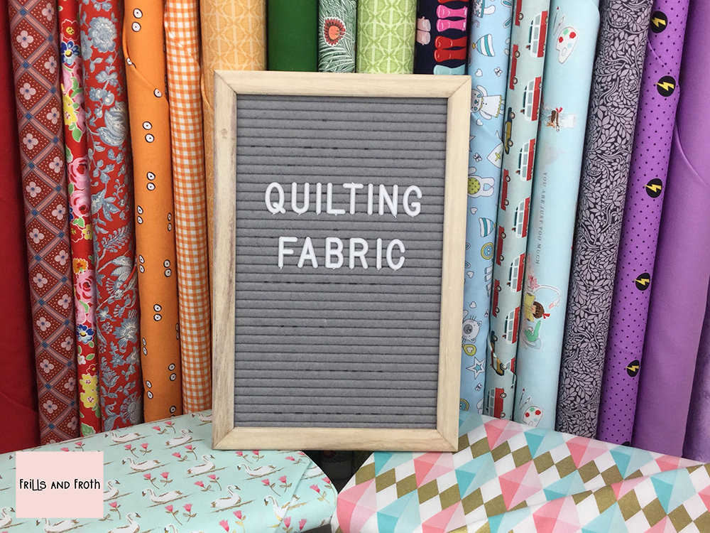 quilting cotton fabrics,from Liberty, Michael Miller, Riley Blake and more.