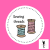 A selection of Mettler sewing threads, suitable for all sewing projects, sold in the UK by frills and froth.
