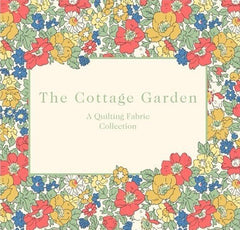 The Cottage garden collection. This Liberty of London fabric collection includes the iconic 'cosmos meadow'.  A stunning selection of fabric designs including delicate flowers, parquet pattern and delicate cottages. This collection consists of 23 beautiful choices. collection list: Cosmos Meadow (pastel) Cosmos Meadow (pinks) Cosmos Meadow (brights) Morning Dew (pale blue) Morning Dew (pale pink) Morning Dew (pink) Morning Dew (blue) Cottage Path (blue) Cottage Path (red) Cottage Lane (blue) Cottage Lane (red) Forget me Not (pastel) Forget me Not (blues) Forget me Not (pale blue) Forget me Not (yellow) Lawn Games (orange) Lawn Games (blue) Little Vine (pink) Little Vine (blue) Daisy Shadow (coral)  Daisy Shadow (cream) Daisy Shadow (blue) Daisy Shadow (pink)