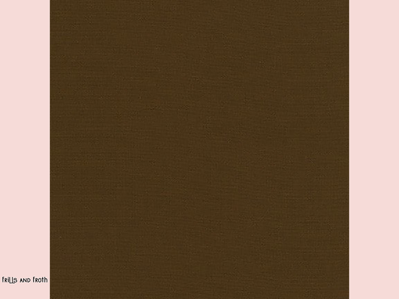 Robert Kaufman 'Kona' fabric in 'Chestnut' quilting fabric Robert Kaufman 'Kona' fabric in 'Chestnuit' This wonderful fabric from Robert Kaufman is brown fabric.