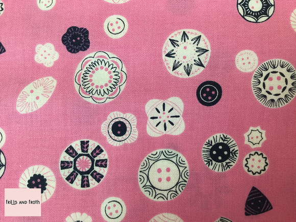Dashwood Studio 'Button'  quilting fabric