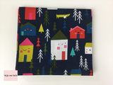 Dashwood Studio 'Merry & Bright' quilting fabric Fat Quarter Bundle This bundle from the 'Merry & Bright' collection by Dashwood Studio contains six fat quarters.