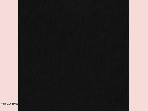 Robert Kaufman 'Kona' fabric in 'Black' quilting fabric