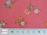 Liberty Fabric Little vine pink quilting cotton