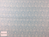 Liberty fabric 'Merton Rose quilting fabric Liberty 'Merton Rose' fabric from the 'Emporium' collection features a blue floral design.