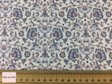 Liberty fabric 'Culodden Vine' quilting fabric Liberty 'Culodden Vine' fabric from the 'Emporium' collection features a monochrome floral design.