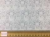 Liberty fabric 'Merton Rose quilting fabric Liberty 'Merton Rose' fabric from the 'Emporium' collection features a monochrome floral design.