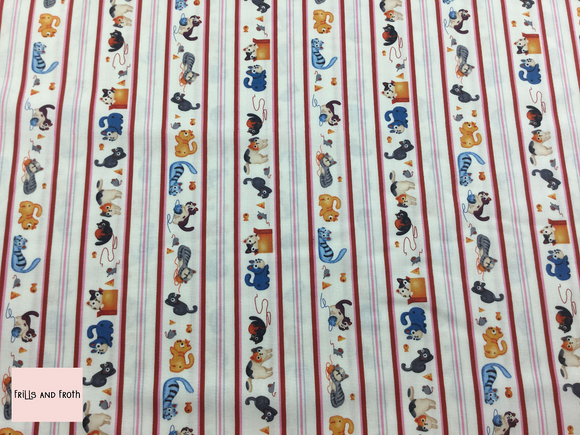 Michael Miller 'Alley Cats' quilting fabric