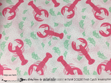 Michael Miller 'Fresh Catch' Lobster quilting fabric