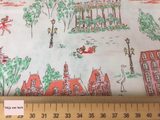 Michael Miller 'Lola Dutch Around Town' quilting fabric