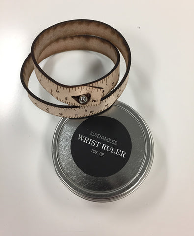 LoopsClub Wrist Ruler