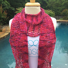 Lazybead Scarf (May 2016)