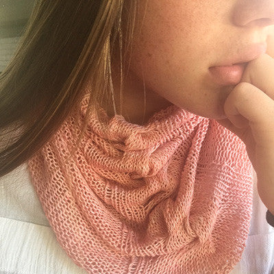 Anzula Silk/Linen Just a Little Cowl extra kit (May 2017)