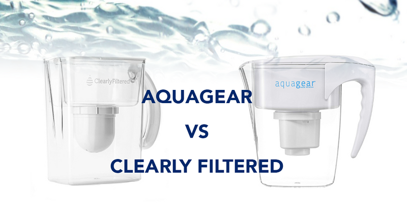 What's the difference between Aquagear and Clearly Filtered?