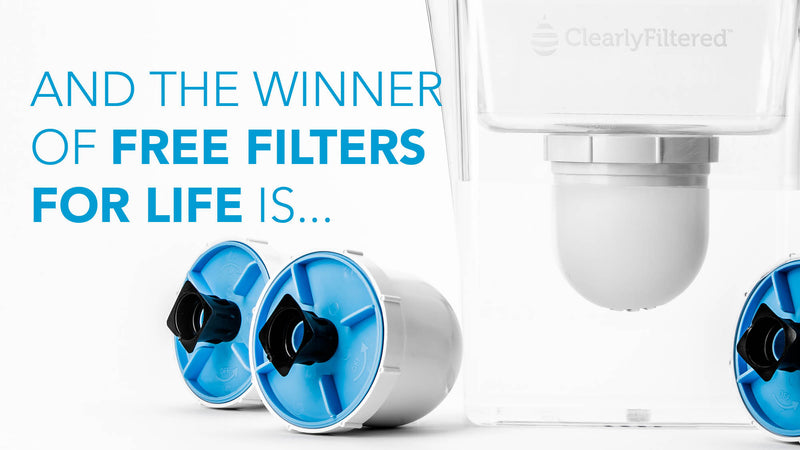 Free Filters for Life - Winner Announcement