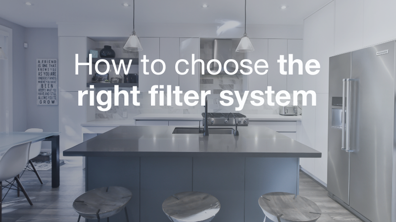What water filter is right for you? image