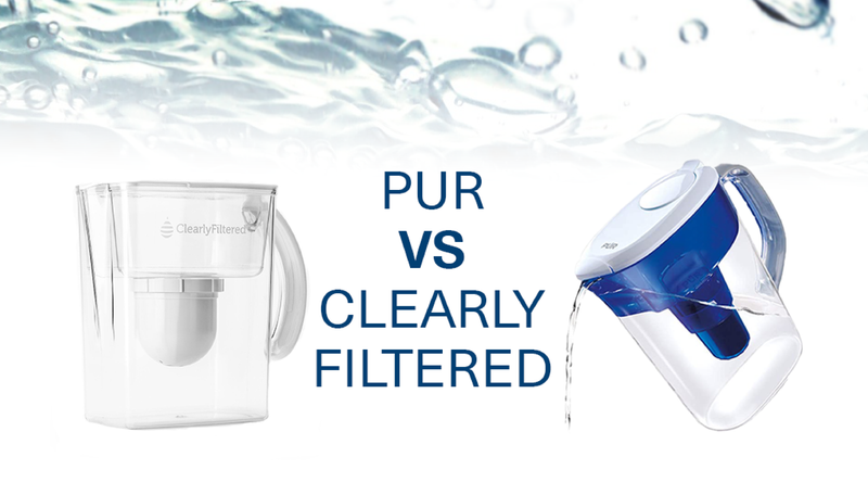 What is the difference between PUR and Clearly Filtered?