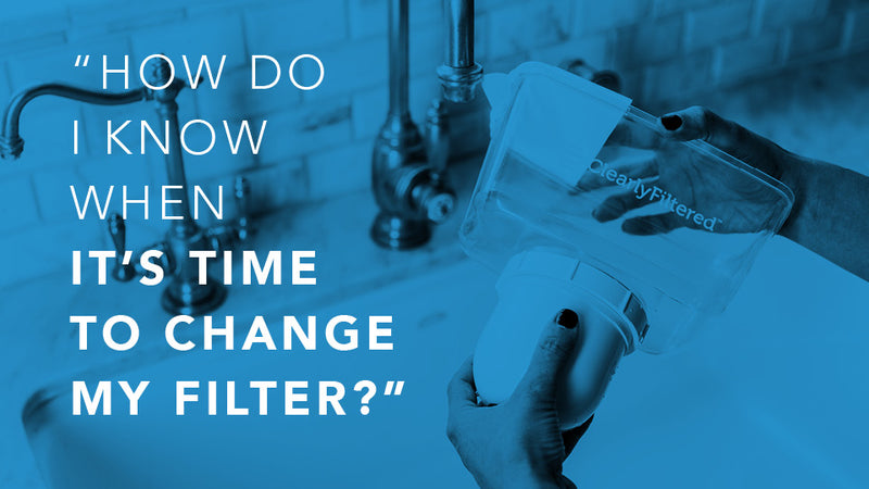 The simple tricks and tips to knowing when to change your pitcher filter