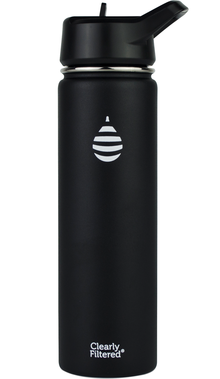 Insulated Stainless Steel Filtered Water Bottle