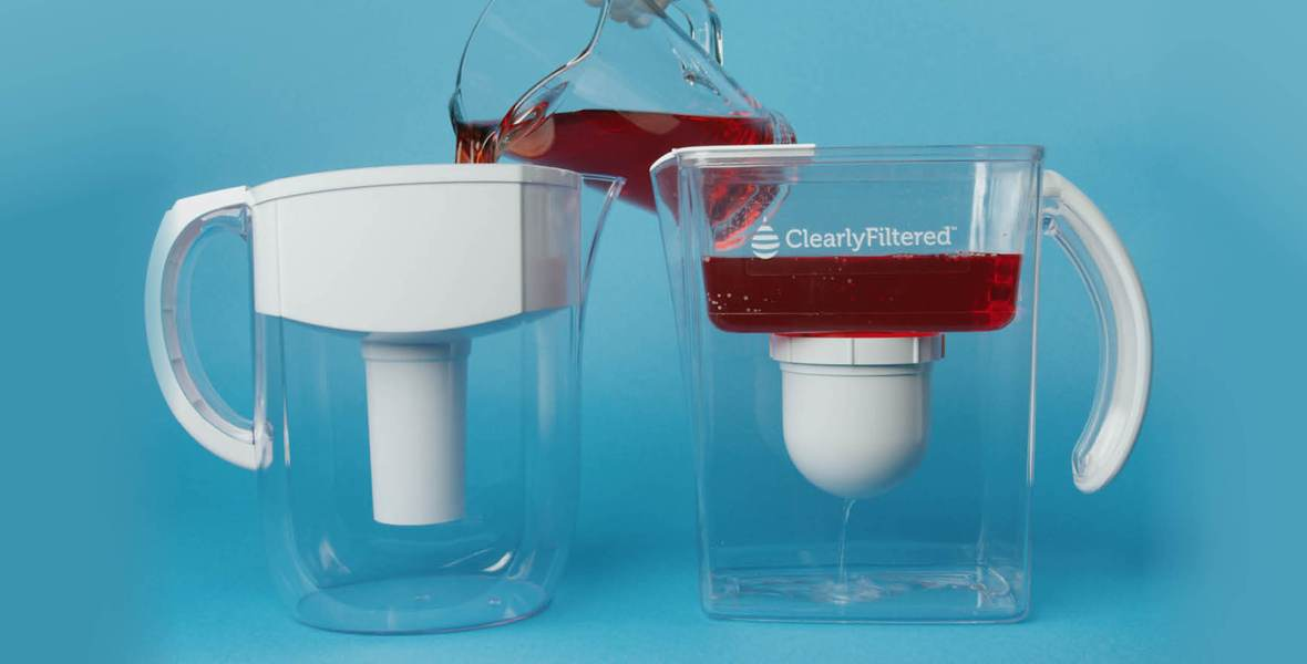 All New Clearly Filtered Water Pitcher