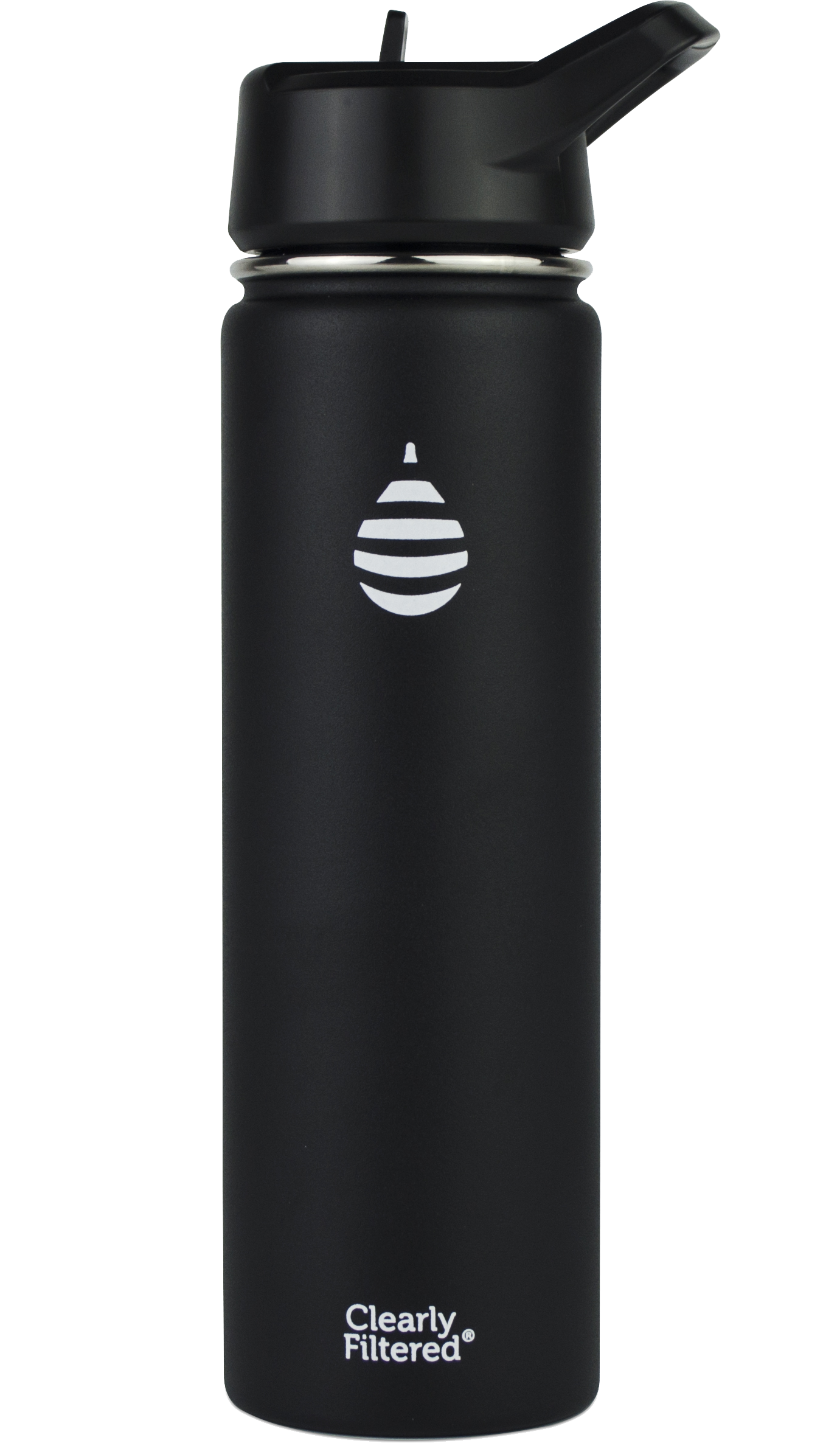 Clearly Filtered Insulated Stainless Steel Filtered Bottle