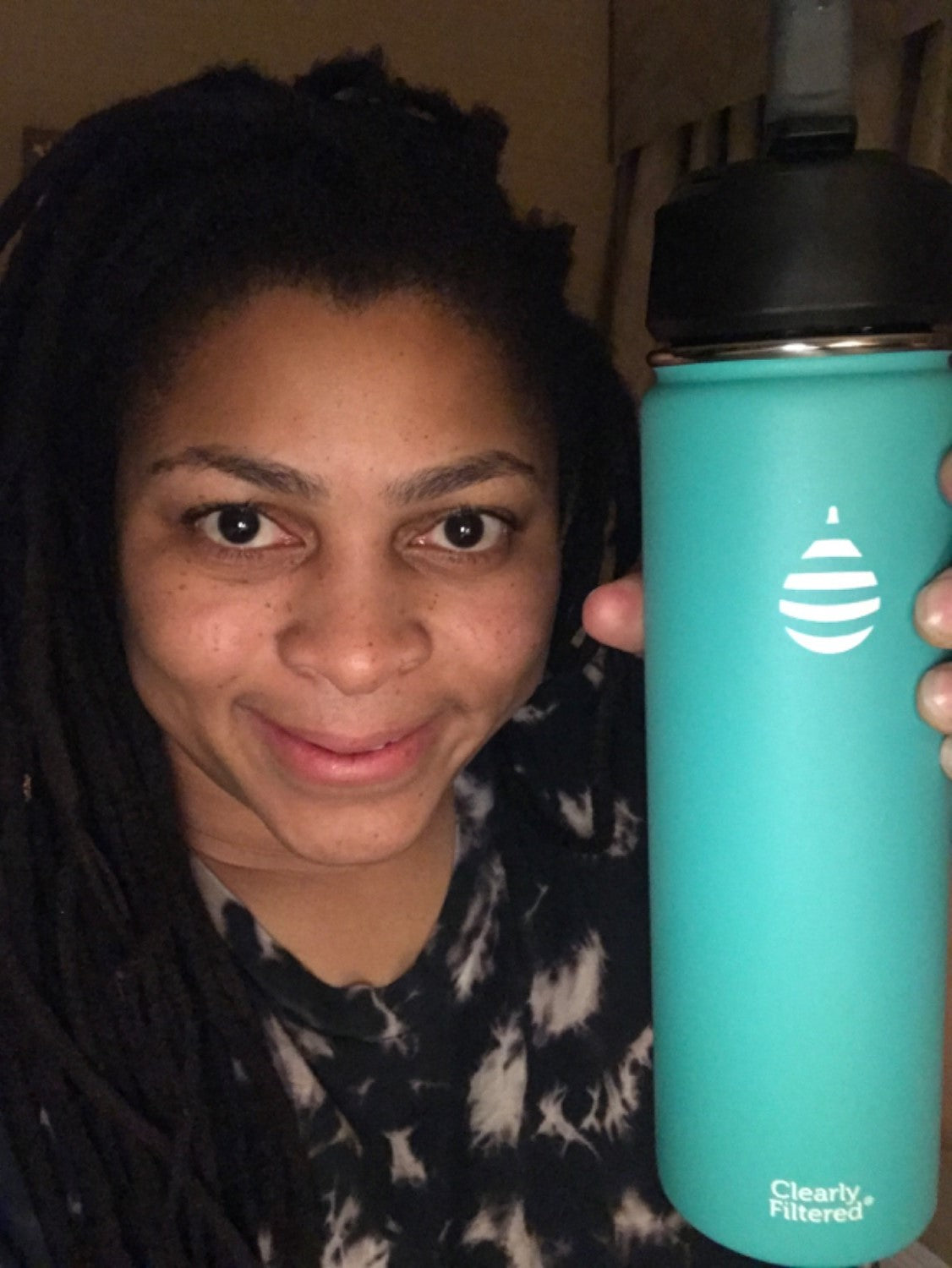 Review of the Clearly Filtered Water Bottle