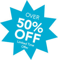 Limited time offer - 50% off