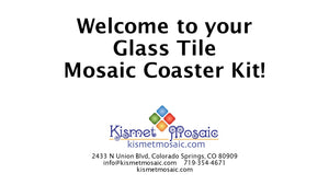 Mosaic Coaster Kit Instructions
