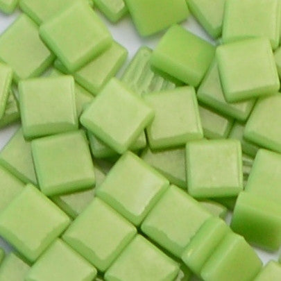 003-g Apple Green, 12mm - Greens & Teals tile - Kismet Mosaic - mosaic supplies
