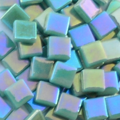 114-i Teal, 12mm - Greens & Teals tile - Kismet Mosaic - mosaic supplies