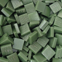 137-m Palmetto Green, 12mm - Greens & Teals tile - Kismet Mosaic - mosaic supplies