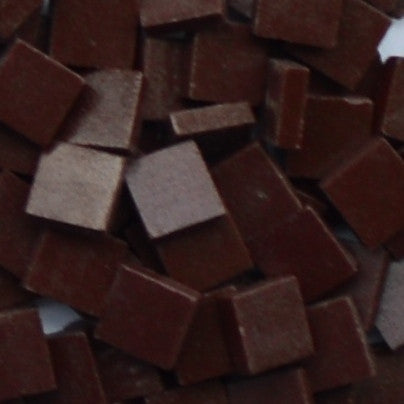 1100-m Dark Chocolate, 12mm - Tans & Browns tile - Kismet Mosaic - mosaic supplies