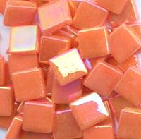 1105-i Orange, 12mm - Oranges, Reds & Pinks tile - Kismet Mosaic - mosaic supplies